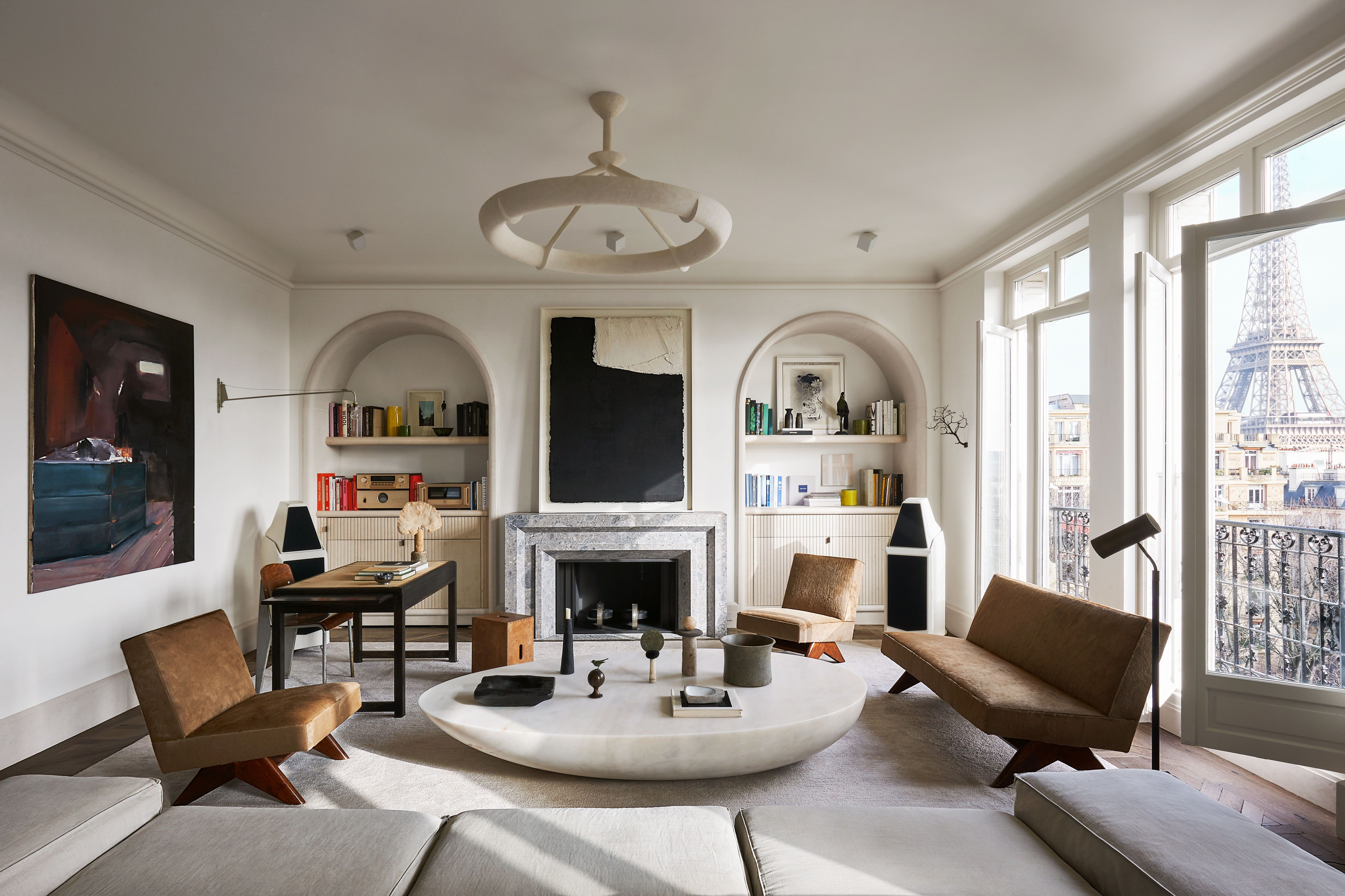 Step Inside Joseph Dirand S Sumptuously Understated Paris Apartment In 2020 Joseph Dirand Paris Apartments Architectural Digest
