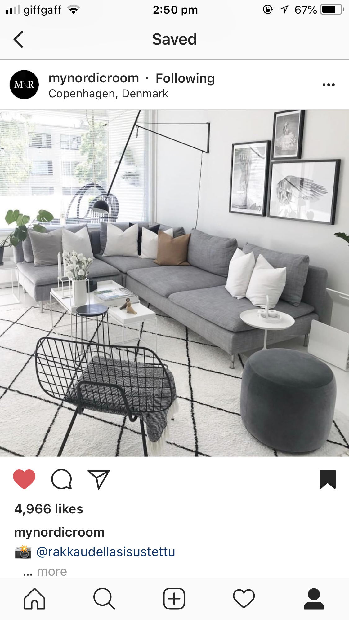 Grey Sofa With White Rug Rustic Industrial Living Room Industrial Living Room Furniture Cosy Living Room