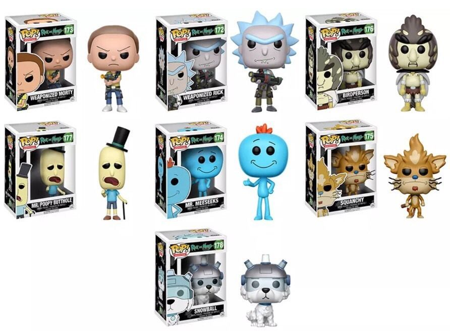 """Rick and Morty Snowball 7/"""" Plush Toy NEW Funko"""