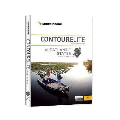Humminbird Lakemaster Contour Elite Software-Mid Atlantic States