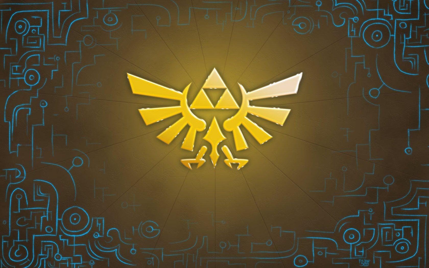 Amazing Zelda Legend Of Zelda Zelda Twilight Princess Logo Wallpaper Hd