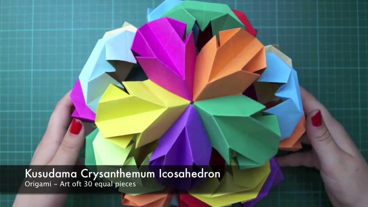 Origami kusudama leroys crysanthemum icosahedron origami origami kusudama leroys crysanthemum icosahedron origami diagrams pooptronica