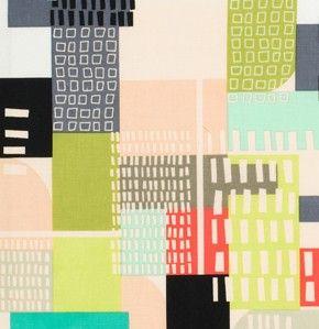 Center City Miami midtown - Jay McCarroll - Free Spirit Fabrics PWJY041 - Contemporary Cloth Store