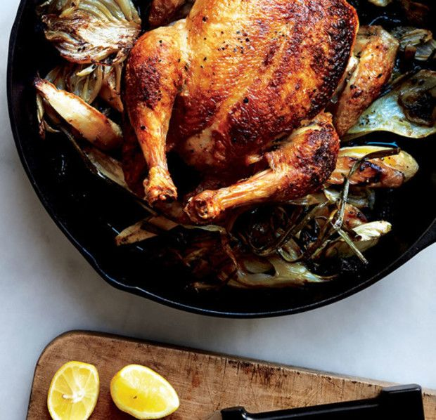 The Secret to an Evenly Cooked Roasted Chicken photo