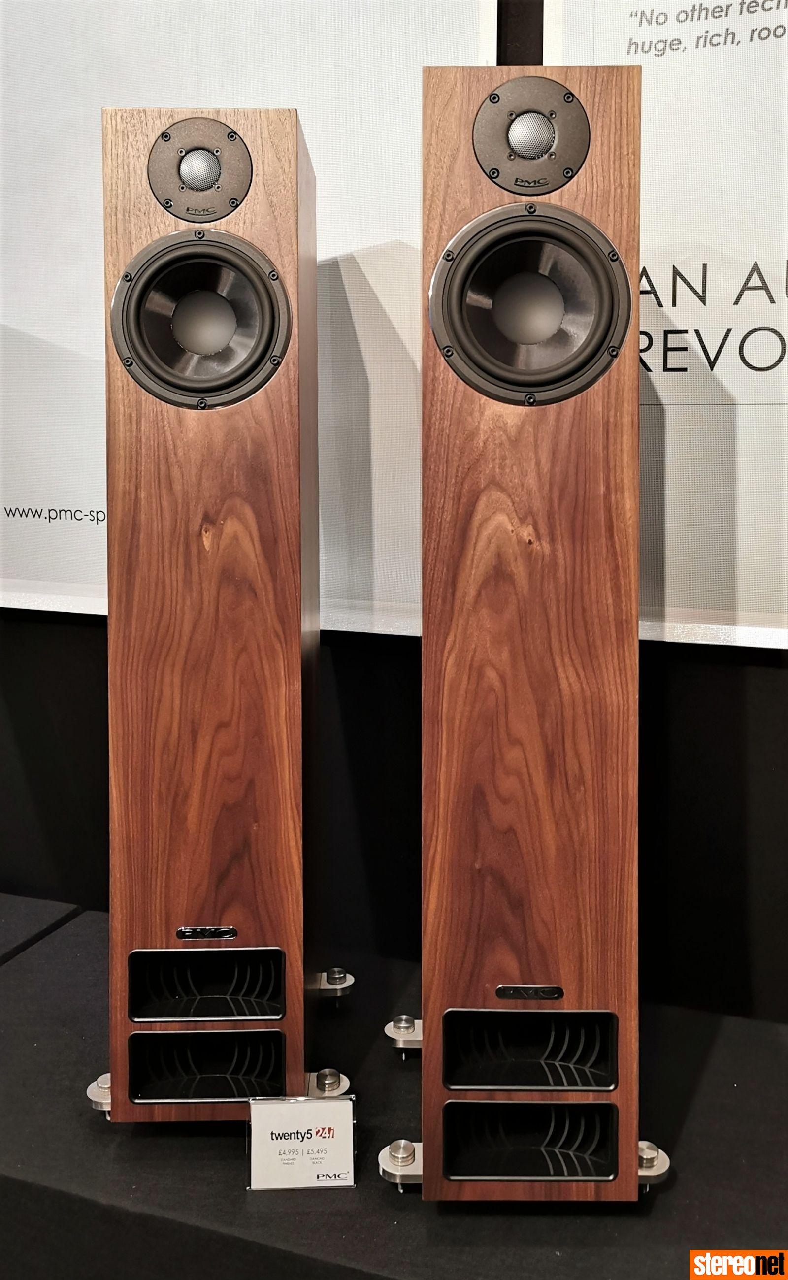PMC Unveils twenty5i 'Improved' Loudspeaker Range at The