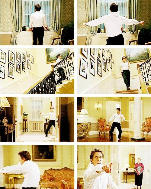 Hugh Grant dancing in Love Actually, 2003