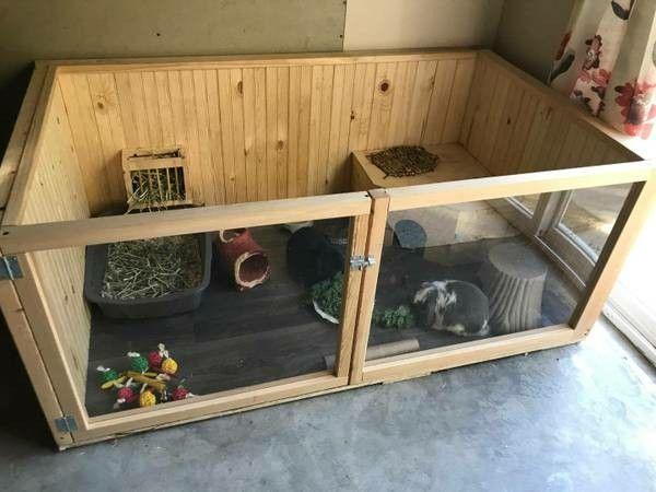 Cute Rabbit Enclosure Found On Craigslist Bunny Cages Indoor Rabbit Rabbit Enclosure