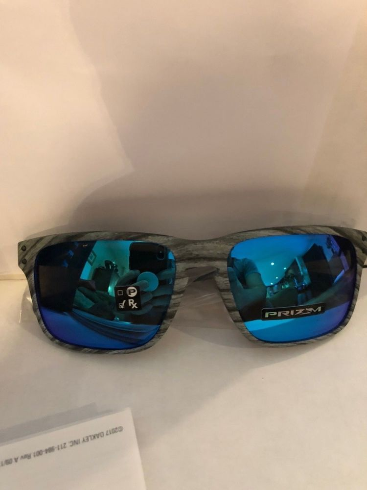 4b3039f4dde Oakley Holbrook Mix Sunglasses Frostwood Prizm Sapphire Iridium OO9384-1257   fashion  clothing