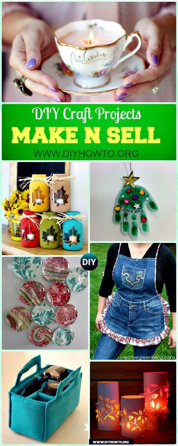 12 DIY Craft Projects You Can Make and Sell [Picture
