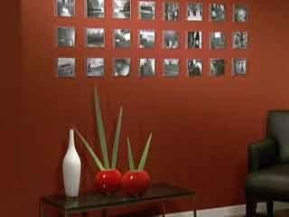 Manualidades y artesan as mural fotogr fico con cajas de for Utilisima decoracion de interiores
