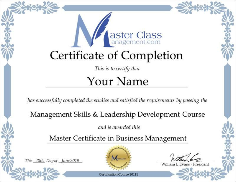 Online Magangement Courses Free Course Management skills