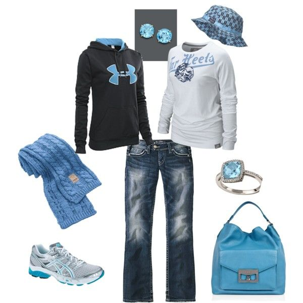 perfect tar heels outfits shoes