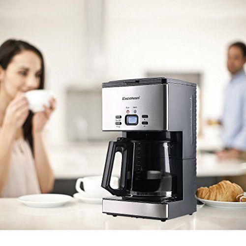 Excelvan Cm6626t 1000w Stainless Steel Coffee Machine