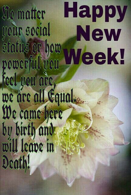 Happy New Week Weekdays Blessing Good Morning Quotes