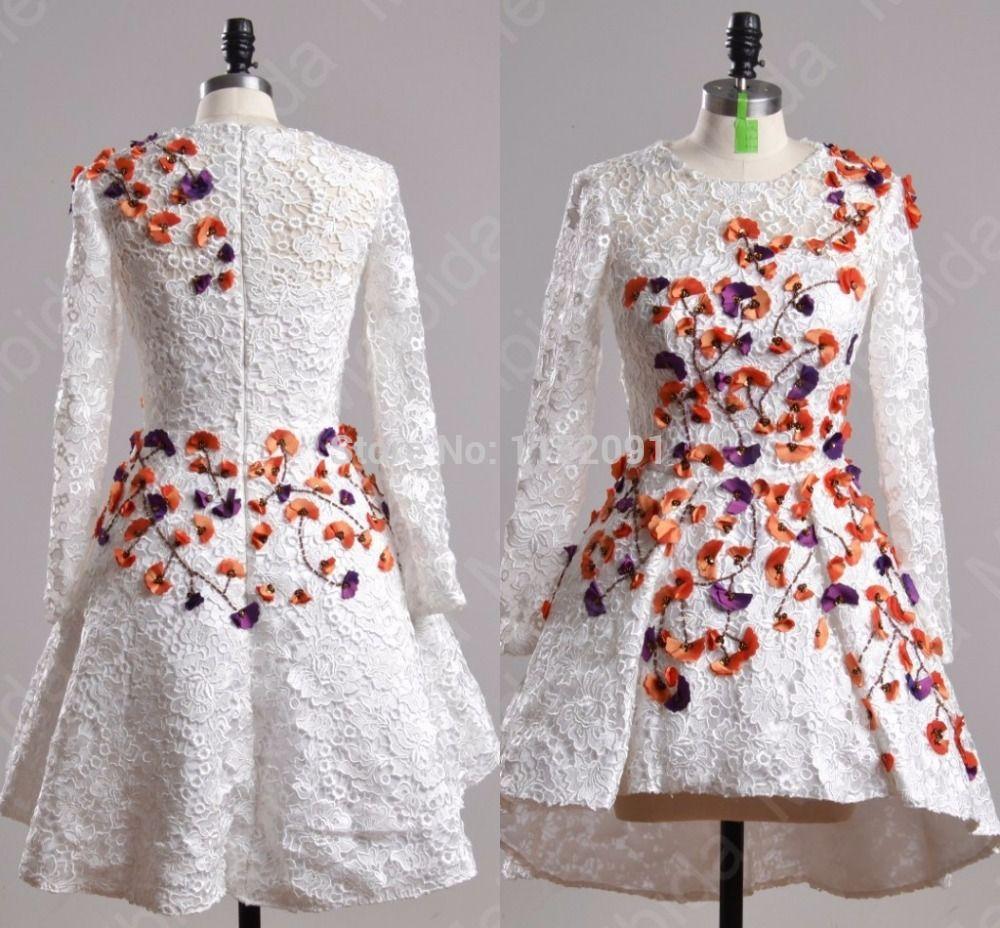 amal alamuddin long sleeve lace short homecoming dresses th