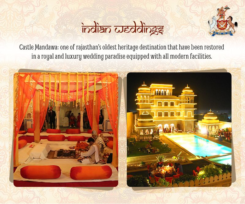 Make your #Wedding experience complete and authentic at #Heritage Castle Mandawa. Contact for Booking - http://castlemandawa.com/contact/ #SummerWedding #WeddingDestinations #DestinationWedding