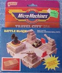 Micro Machines battle block