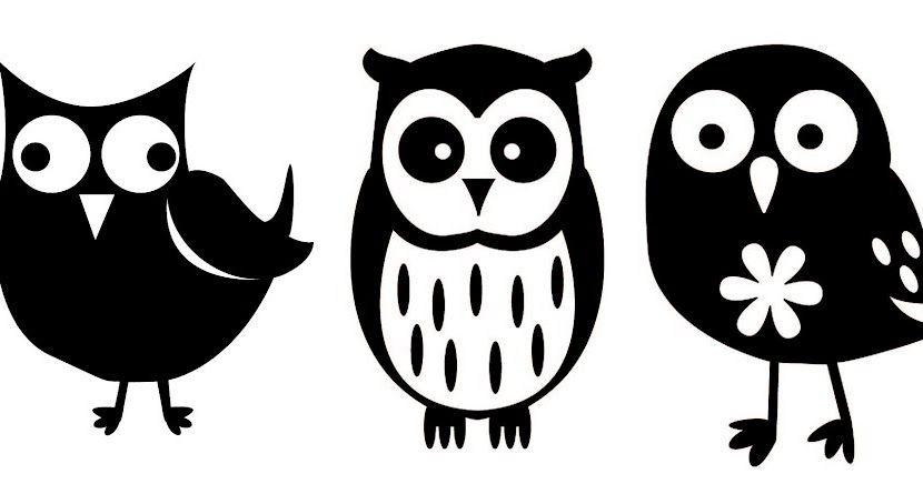 Download D'autres hiboux | Animal doodles, Owl silhouette ...