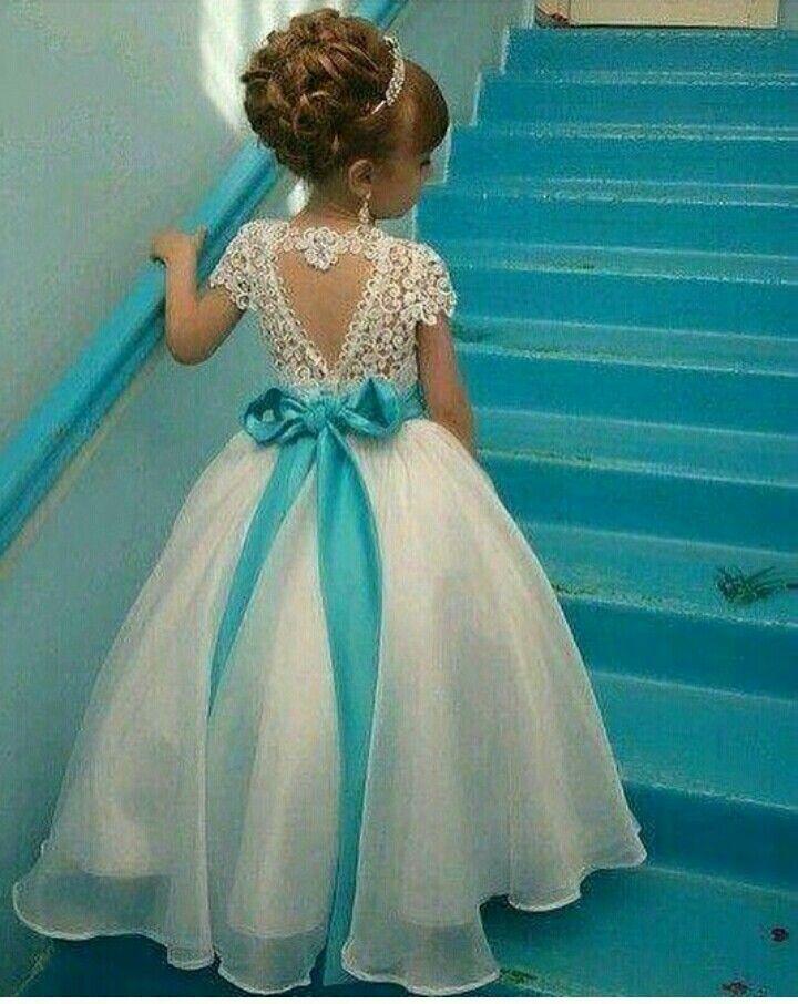 Pin by Dreysi on vestidos niña | Pinterest | Flower girl dresses and ...