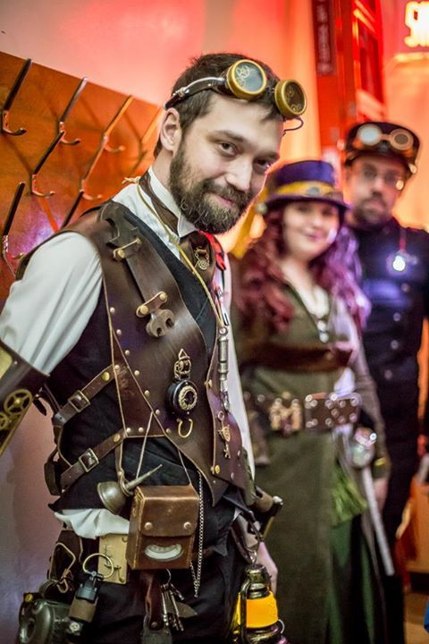 Steampunk Montreal Nuit Blanche 2015 Steampunk Couture