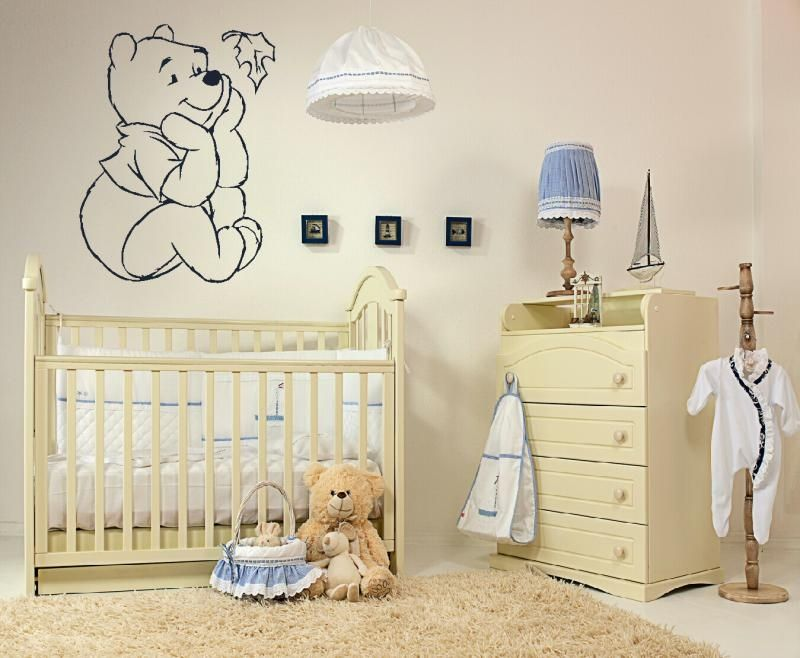 Winnie The Pooh Wall Sticker Wall Decals Pinterest Wall - Baby winnie the pooh nursery decor
