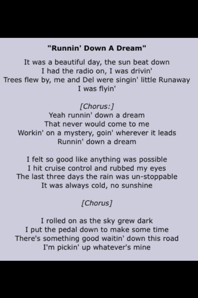Lyric louisiana rain lyrics : Tom Petty and the Heartbreakers | Song Lyrics Four | Pinterest ...