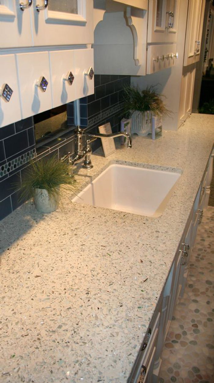 Vetrazzo recycled glass countertop i have been looking at this product since it came out i like the neutrals the best because it looks less busy