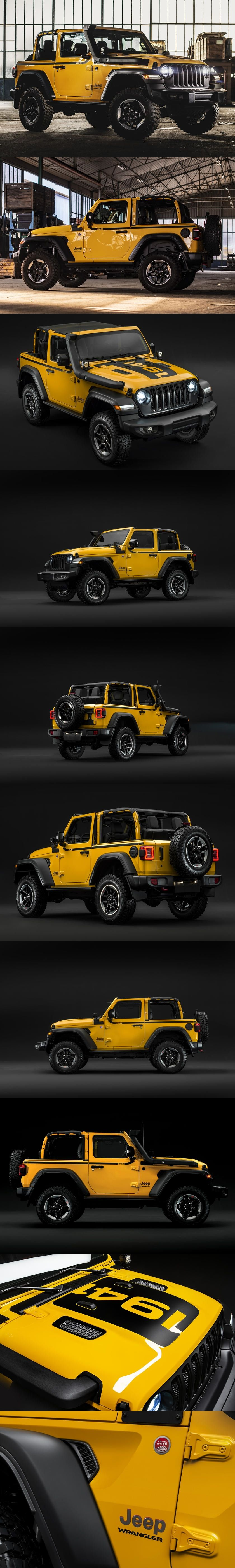 Jeep Wrangler Rubicon 1941 Storms Europe Once Again The Special