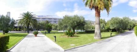 Hotel Rada Siri front view, Calabria Italy