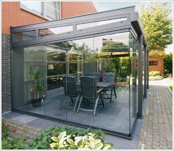 Glass Box Extension Outdoor Patio Designs Patio Room Patio