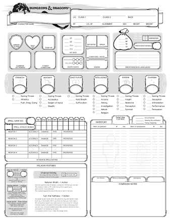 Image result for Hero Forge character sheet | D&D (5th Ed