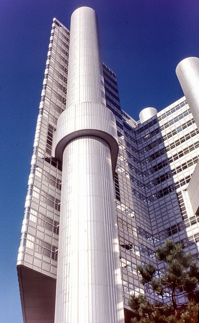 Hypo Bank Munchen Brutalist Architecture