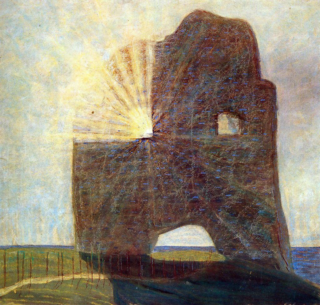 The Past - Mikalojus Ciurlionis, 1907