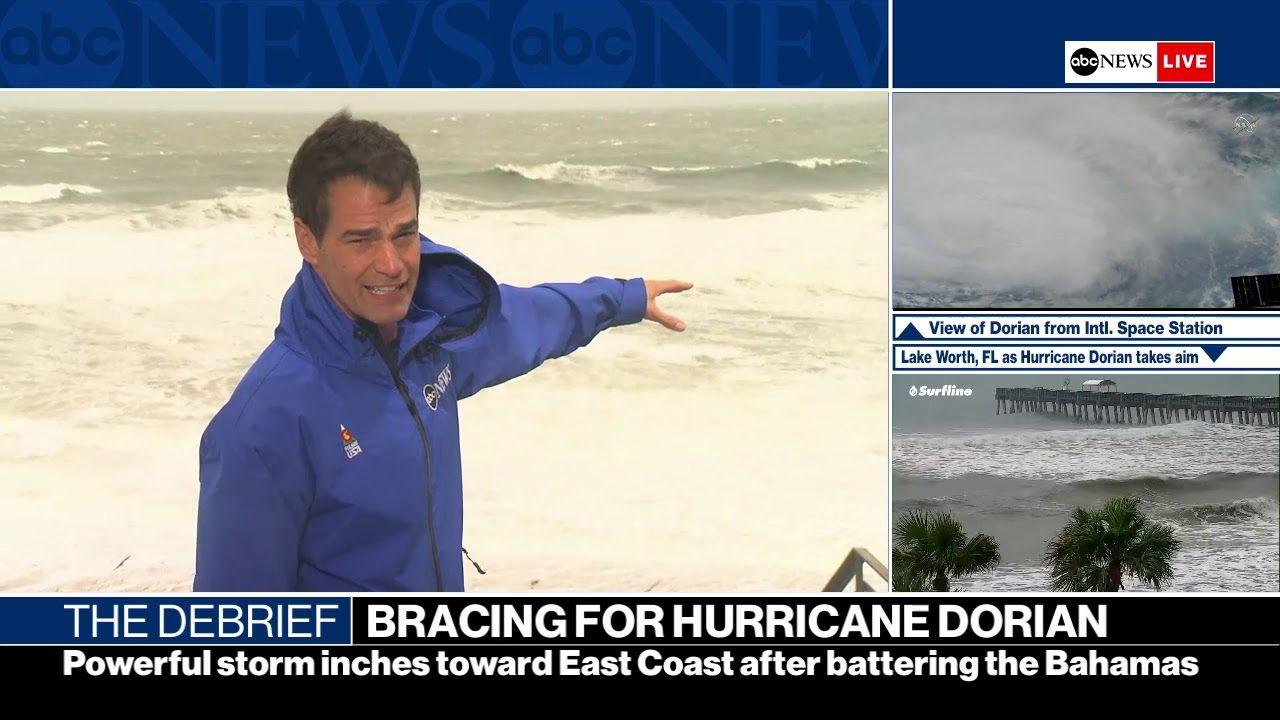 Update The Debrief Tracking Hurricane Dorian Texas Shooting Spree De Abc News Hurricane Abc