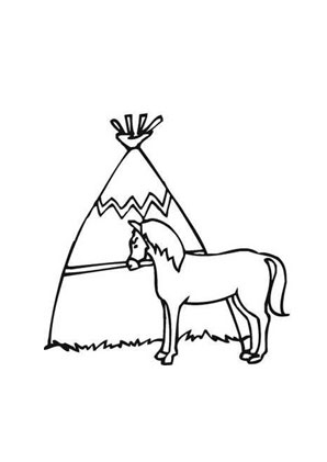 Ausmalbild Indianer Pferd Zum Ausmalen Ausmalbilder Ausmalbilderpferde Malvorlagen Ausmalen Indianer Pferde Ausmalbilder Tiere Ausmalbilder Pferde