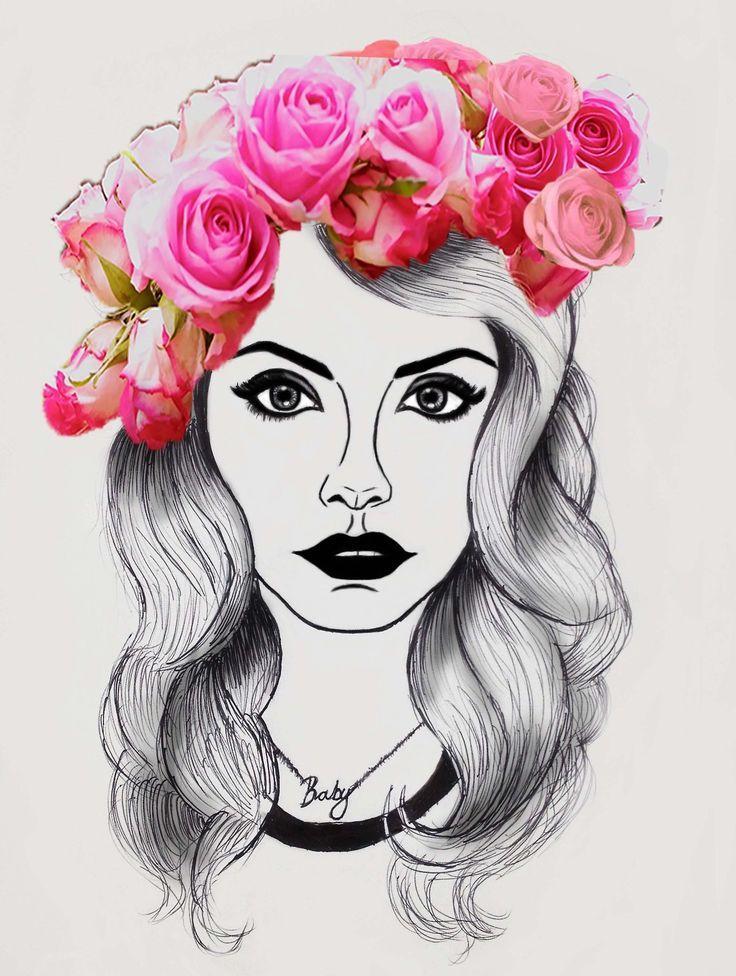 Lana Del Rey Dibujos Buscar Con Google Lana Del Rey Art Art Lana Del Rey