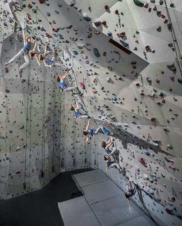 Pin By Tim Buitenhuis On Rock Gyms Walls Comps Indoor Climbing Rock Climbing Wall Rock Climbing