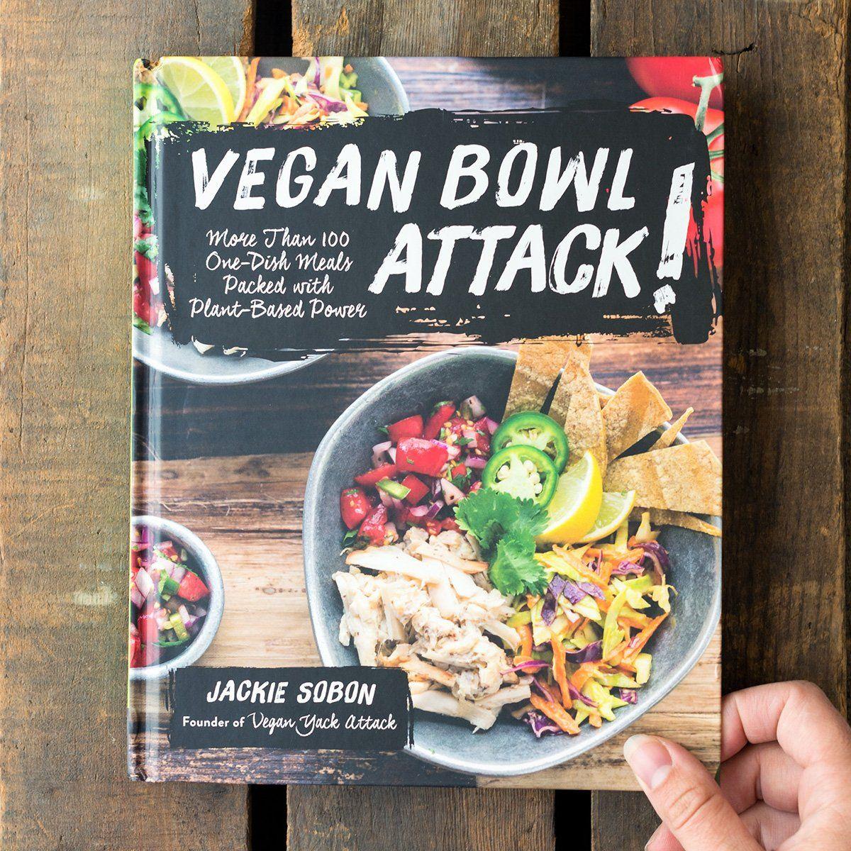 Signed Copy Of Vegan Bowl Attack Vegan Cookbook Vegan Bowls Best Vegan Cookbooks