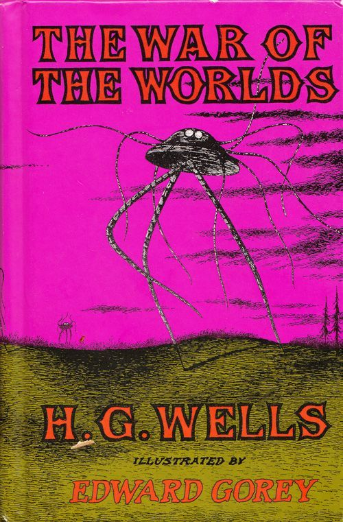 H. G. Wells's, The War of the Worlds, illustrated by Edward Gorey