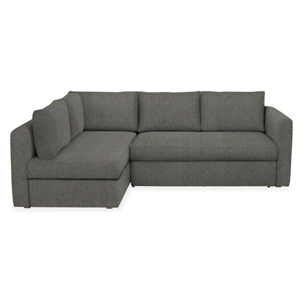 Oxford Pop-Up Platform Sleeper Sofa with Storage Chaise ...