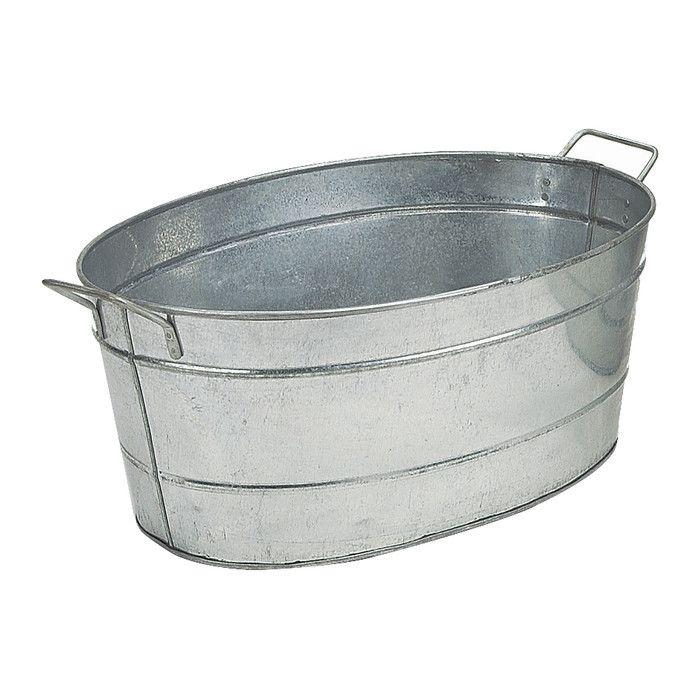 Minuteman Galvanized Steel Tub I   Wayfair   ACA Auction   Pinterest