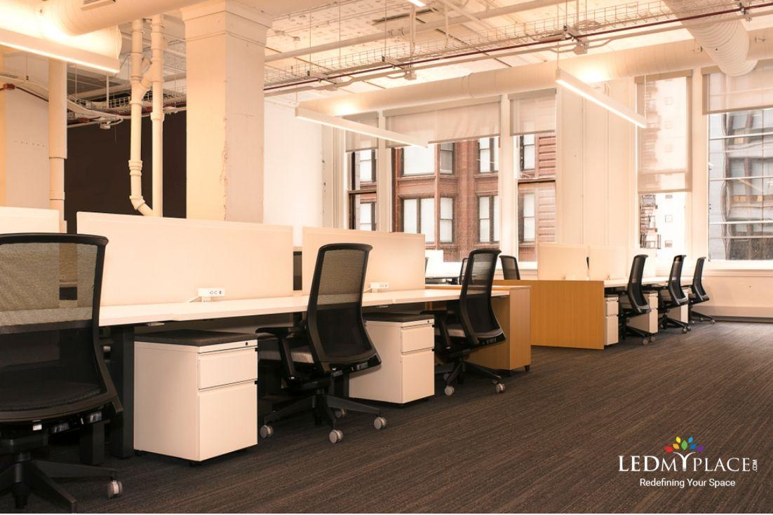 Led Light Tube In Office Led Tube Light Led Tubes Tube Light