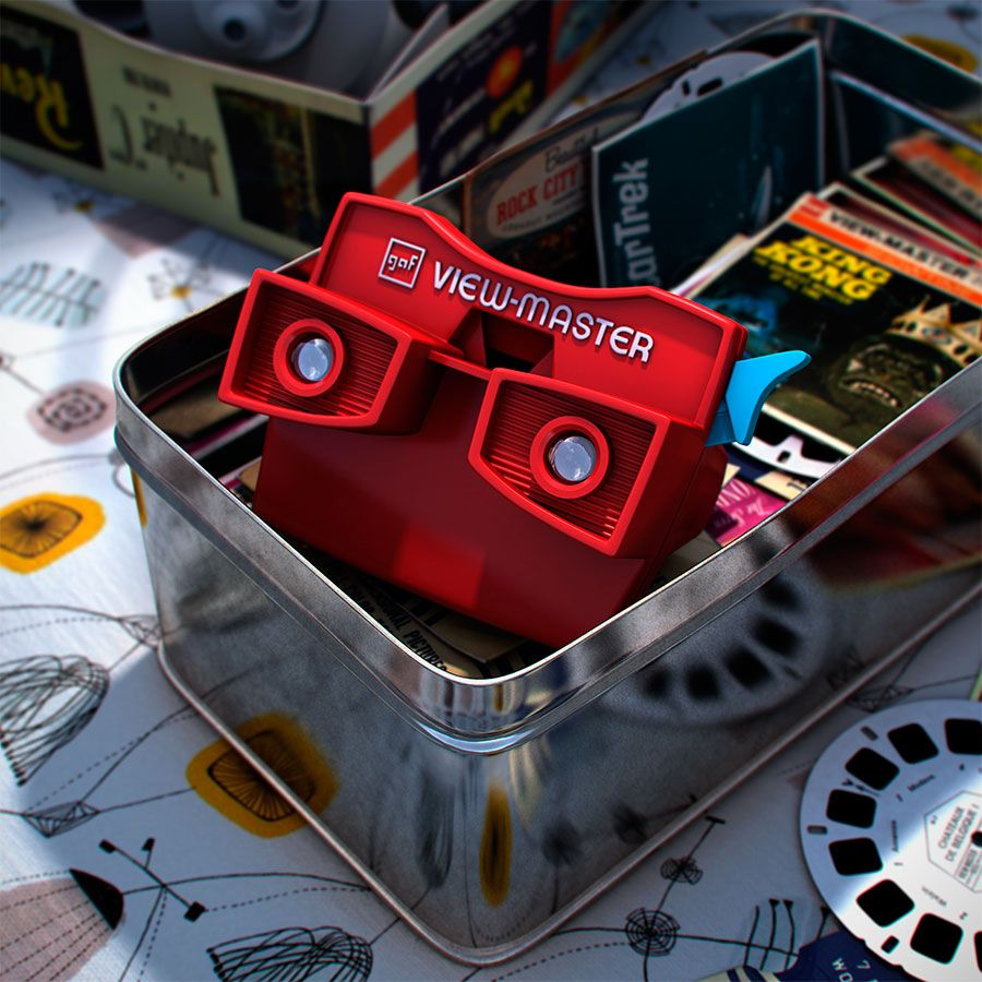 3D View-Master - design by Curro Astorza!