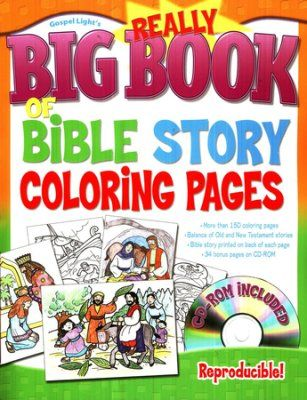 Really Big Book of Bible Story Coloring Pages | Books to ...