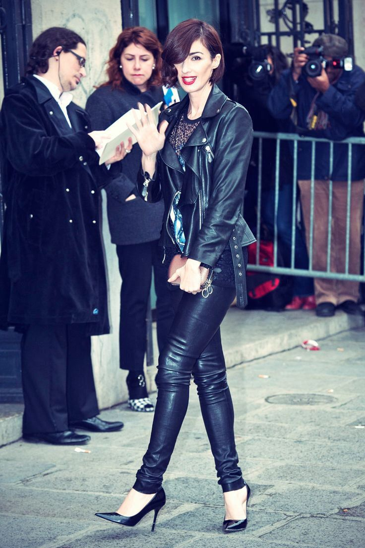 Pin By Oscar Chocano On Leather Style Leather Pants Outfit