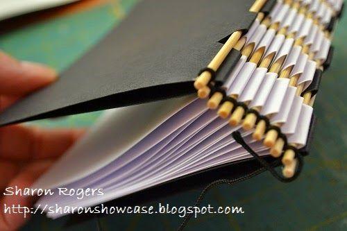 Skewer Book aka Piano Hinge Book! | Unruly PaperArts