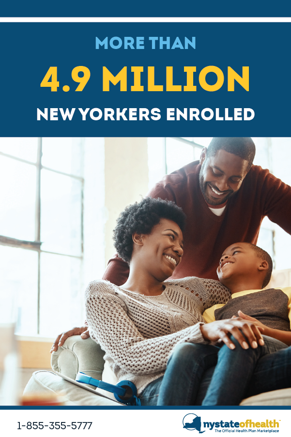 Ny State Of Health Announced Today That Over 4 9 Million People