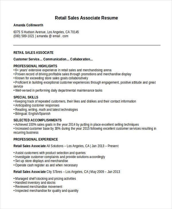 Cover Letter Sales Associate Pinval V On Training  Pinterest  Sample Resume