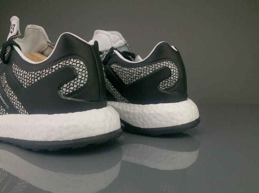 """wholesale dealer 43f34 5569b ... Yohji Yamamoto Triple White BY8955 Sneaker lower price with 95eae  4e942 adidas Y-3 Pure Boost """"Oreo""""BY8957 Sneaker ..."""