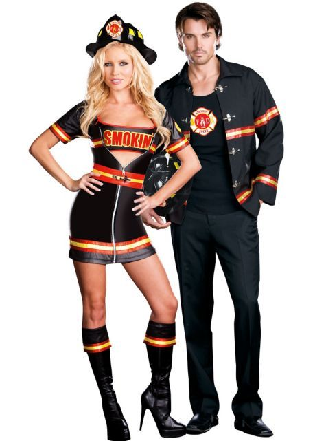 67f03406191 Firefighter Couples Costumes: Smokin' Hot Firefighter ($39.99 ...